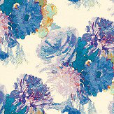 Aire Beardwood Blue / Purple Wallpaper