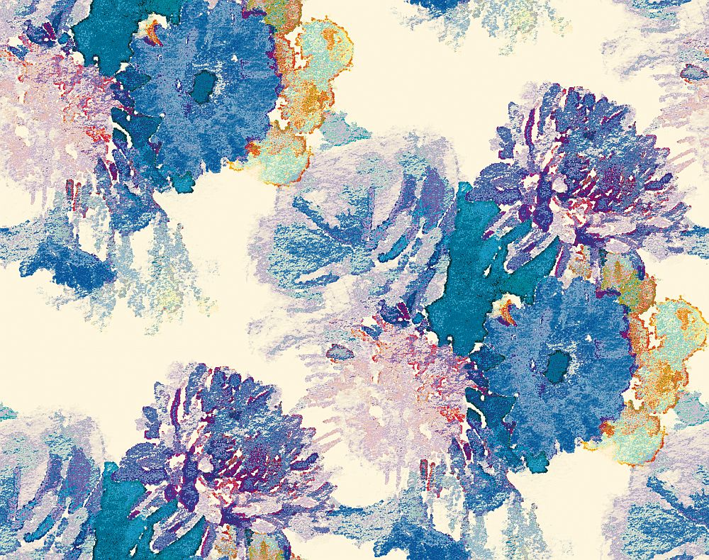 Aire Beardwood Blue / Purple Wallpaper - Product code: 2016-102-08