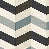 Albany Zigzag Monochrome Wallpaper - Product code: 34123-4