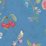 Eijffinger Cherry Pip Blue Wallpaper - Product code: 375025