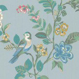 Eijffinger Botanical Print Green Wallpaper - Product code: 375061