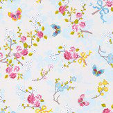 Eijffinger Chinese Rose Off White Wallpaper - Product code: 375070