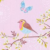 Eijffinger Early Bird Light Pink Wallpaper - Product code: 375082