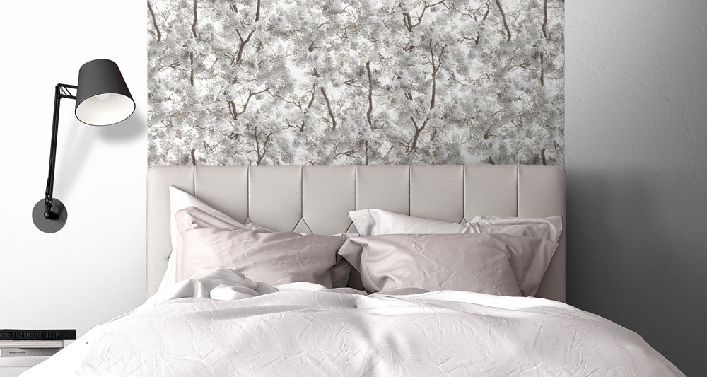 Albany Blossom Arbor White Wallpaper - Product code: L33109
