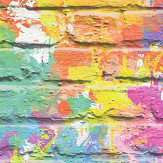 Albany Graffiti Wall Multicoloured  Wallpaper - Product code: L33505