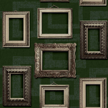 Albany Framed Dark Green Wallpaper - Product code: L35104