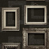 Albany Framed Black Wallpaper