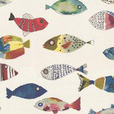 Prestigious Gone Fishing Vintage Fabric