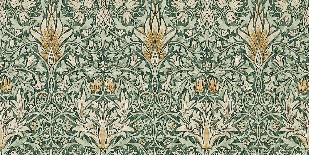 Forest / Thyme : Wallpaper Direct