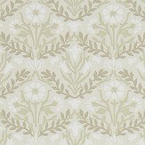 Morris Bellflower Manilla / Olive Wallpaper - Product code: 216434