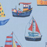 Prestigious Boat Club Ocean Fabric - Product code: 5034/711