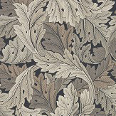 Morris Acanthus Charcoal / Grey Wallpaper