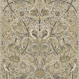 Morris Bullerswood Panel Stone / Mustard Mural