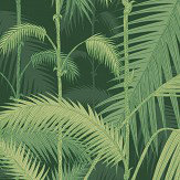 Cole & Son Palm Jungle Forest Green Wallpaper