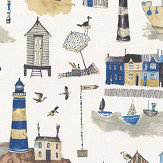 Prestigious Seaside Ocean Fabric