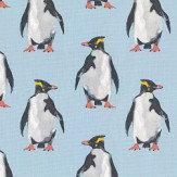 Prestigious Penguin Ocean Fabric - Product code: 5039/711