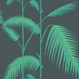 Cole & Son Palm Leaves Viridian Wallpaper