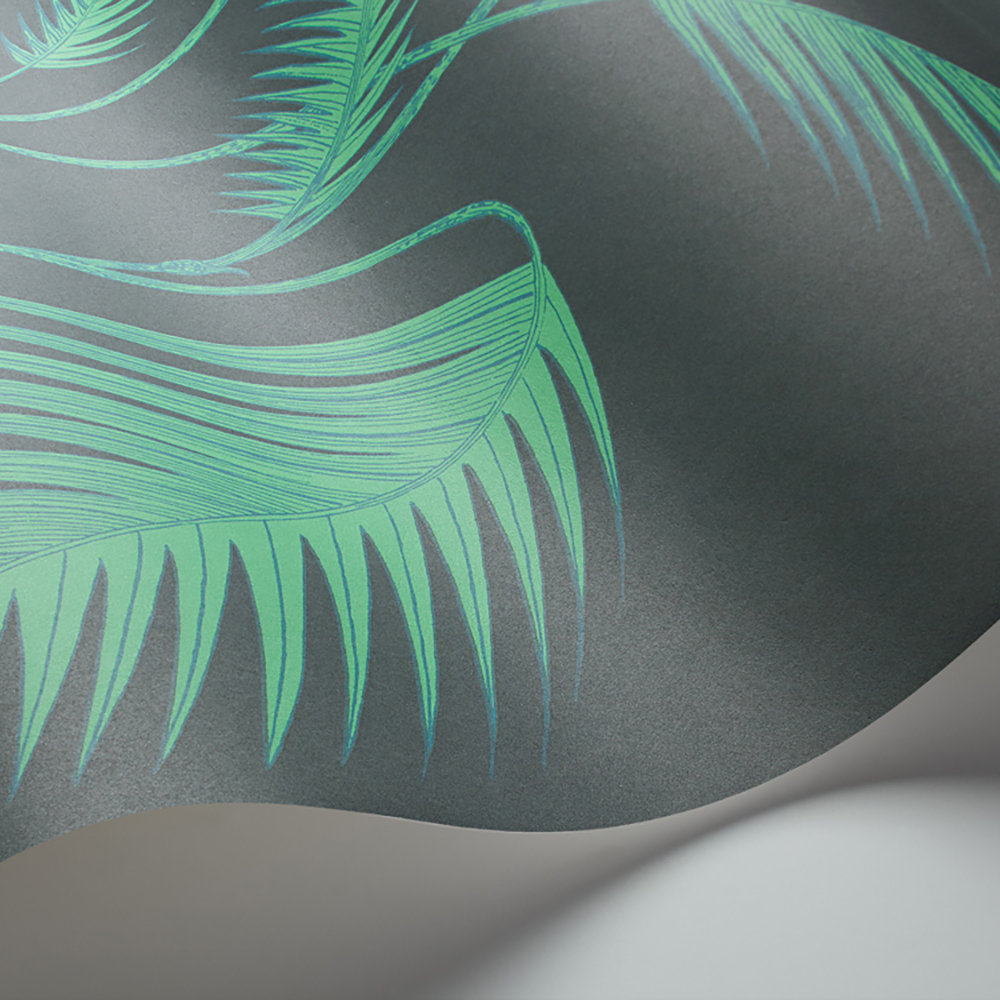 Palm Leaves Wallpaper - Viridian - by Cole & Son
