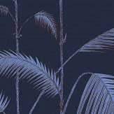 Cole & Son Palm Leaves Ink and Violet Wallpaper - Product code: 112/2008