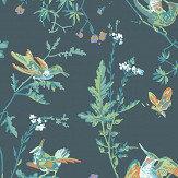 Cole & Son Hummingbirds Viridian Wallpaper