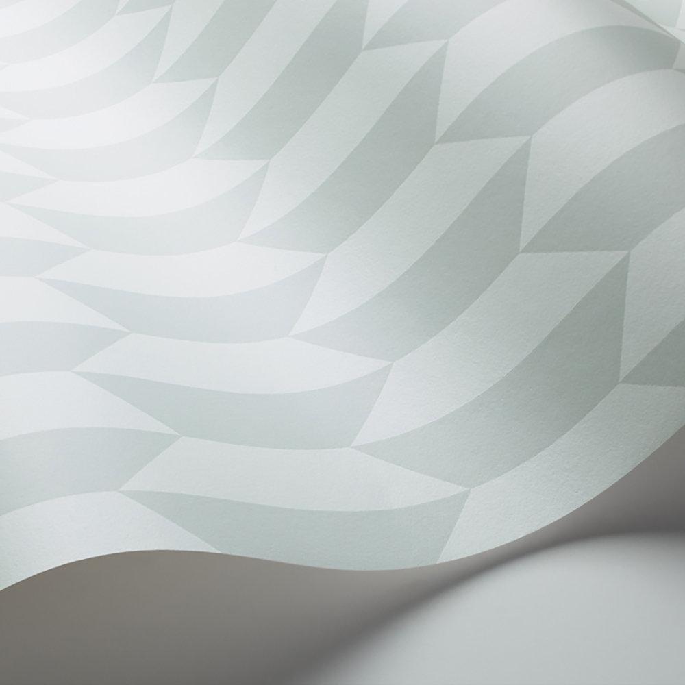 Petite Tile Wallpaper - Duck Egg    - by Cole & Son