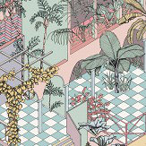 Cole & Son Miami Pastel Wallpaper - Product code: 112/6023