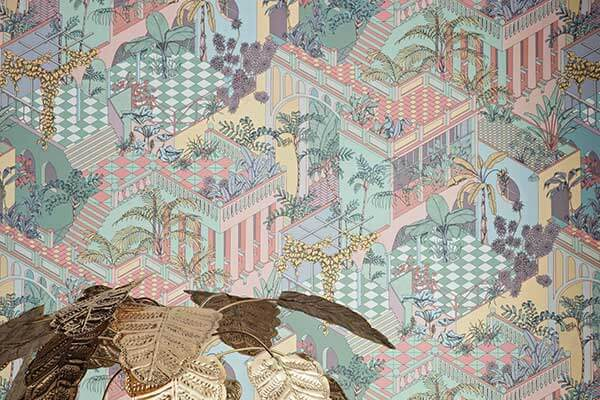 Cole & Son Miami Pastel Wallpaper