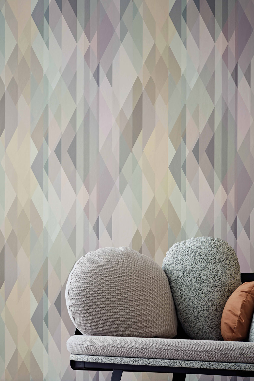 Prism Wallpaper - Pastel - by Cole & Son