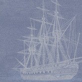Brewers Sailing Ship Blue Wallpaper - Product code: 584-3