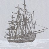 Brewers Sailing Ship Black Wallpaper - Product code: 584-5