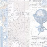 Brewers Navigator Pale Blue Wallpaper - Product code: 586-2