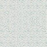 Nina Campbell Mourlot Aqua Wallpaper - Product code: NCW4302/04