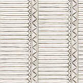Nina Campbell Domiers Charcoal / Ivory Wallpaper