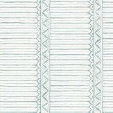 Nina Campbell Domiers Aqua / Ivory Wallpaper - Product code: NCW4307/03