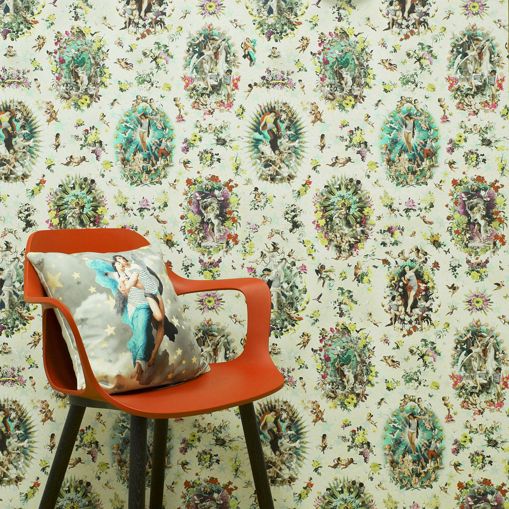 Jean Paul Gaultier Recreation Multi-coloured Wallpaper - Product code: 3309/01