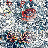 Jean Paul Gaultier Iresumi Multi-coloured Wallpaper - Product code: 3310/01