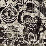 Jean Paul Gaultier Ernest Ecru / Noir Wallpaper