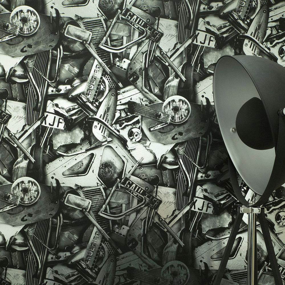 Jean Paul Gaultier Cesar Argent Wallpaper - Product code: 3313/01