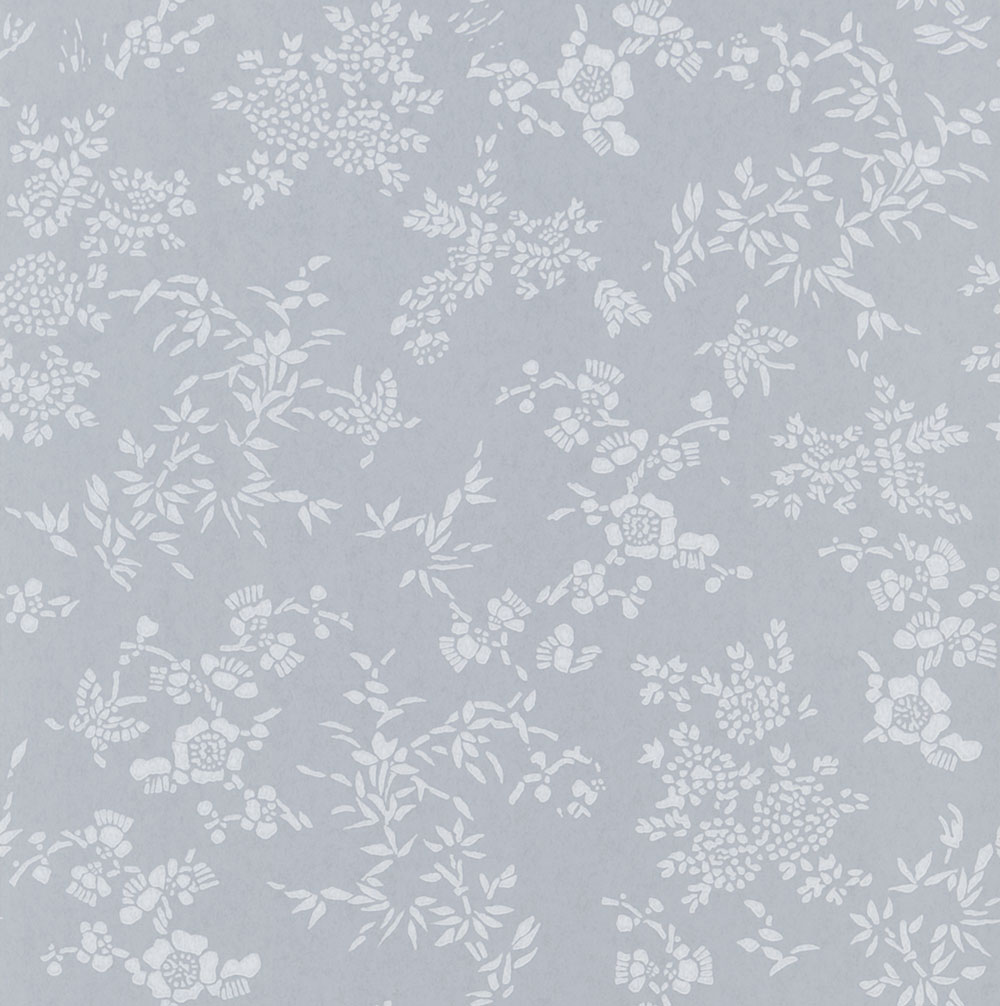 Ralph Lauren Teabowl Calico Light Grey Wallpaper - Product code: PRL5006/02