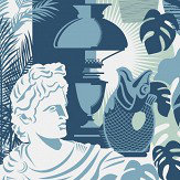 Mini Moderns Art Room Chalkhill Blue Wallpaper