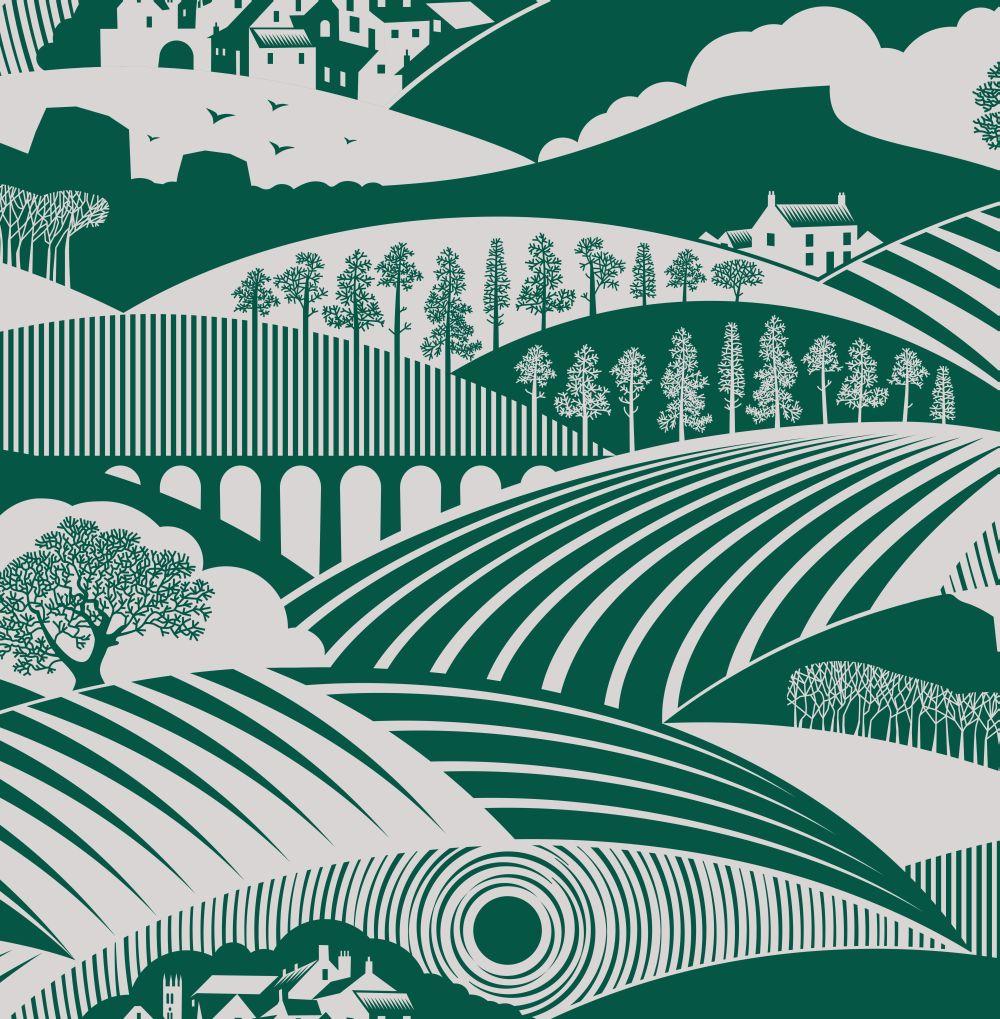 Mini Moderns Moordale Douglas Fir  Wallpaper main image