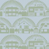 Mini Moderns Metroland British Lichen Wallpaper - Product code: AZDPT035BL