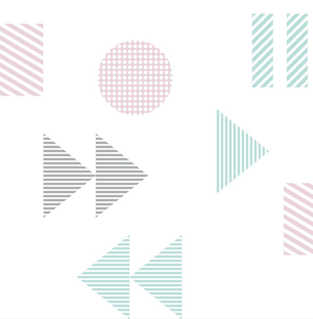 Mini Moderns Play/Record Pale Verdigris Wallpaper - Product code: AZDPT036PV
