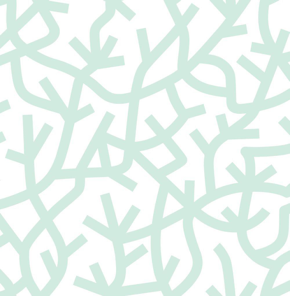 Mini Moderns A Forest Pale Verdigris Wallpaper - Product code: AZDPT037PV