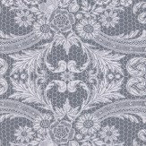Matthew Williamson Orangery Lace Dove Grey Wallpaper - Product code: W7142/01