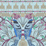 Matthew Williamson Lyrebird Aqua Wallpaper