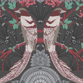 Matthew Williamson Lyrebird Black Wallpaper - Product code: W7143/04