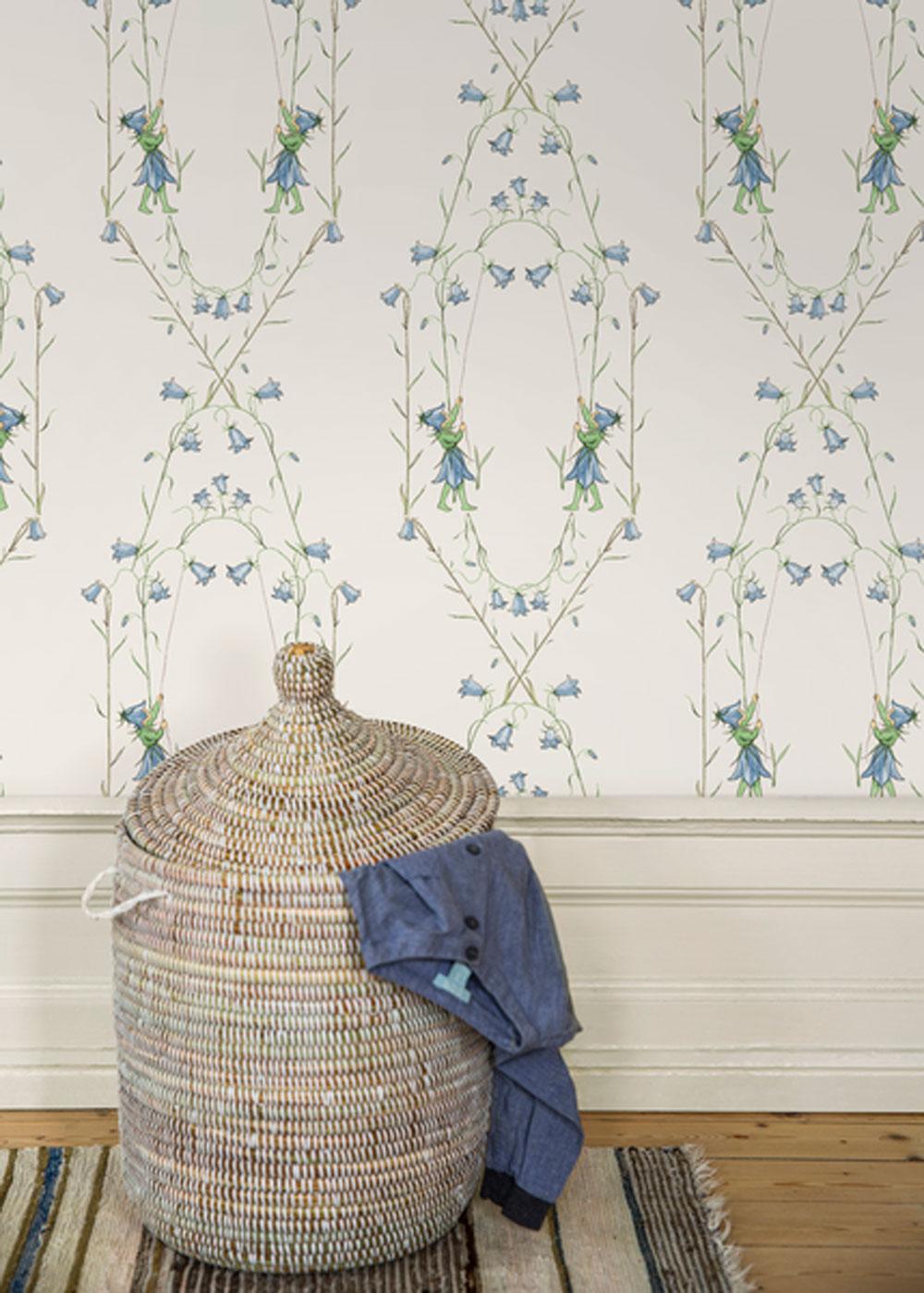 Boråstapeter Blåklocka Harebell Wallpaper - Product code: 6233