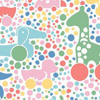 Boråstapeter Brio Dots Multicoloured  Wallpaper