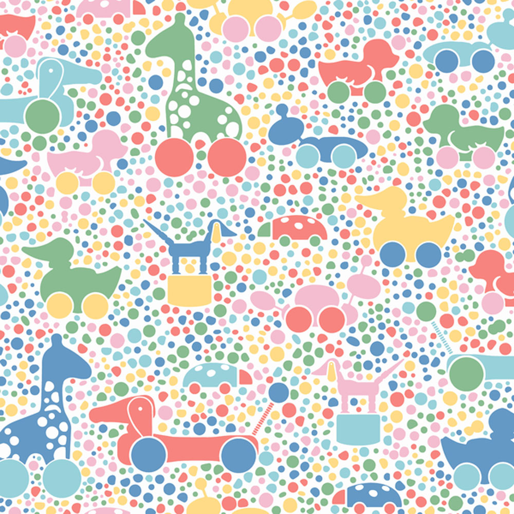 Boråstapeter Brio Dots Multicoloured  Wallpaper main image
